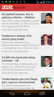How Do I Download Punch Newspaper Mobile App For Android Device
