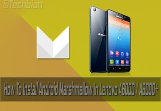 Android Marshmallow In Lenovo A6000