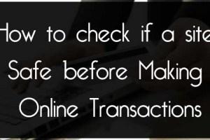 online site security