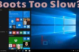 windows 10 slow boot
