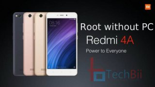 root redmi 4a without pc