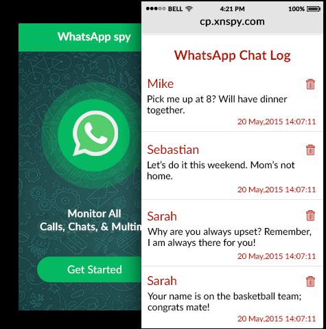 whatsapp chatverlauf spion