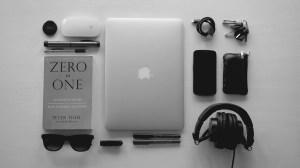 ipad technology desk