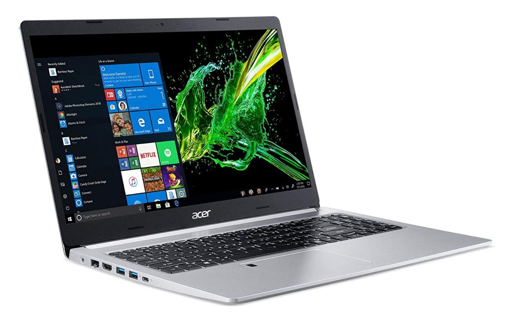 Ultra-thin Acer Aspire 5 15.6 laptop