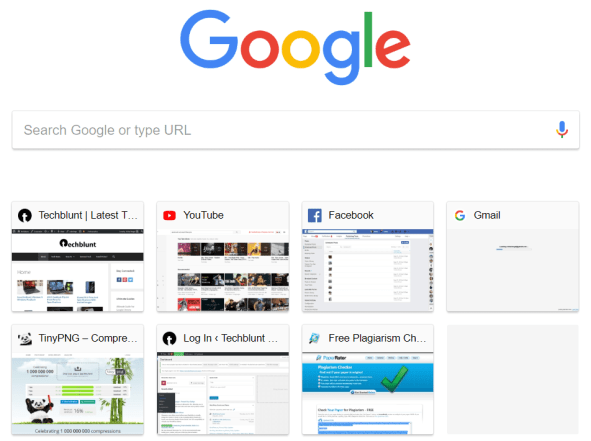 Google Chrome - Multiple Pages