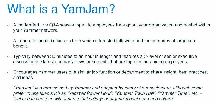 What Is YamJam