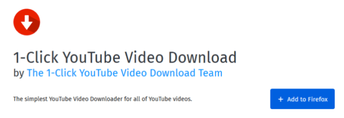5 Best Firefox YouTube Videos Downloaders You Can Use - TechBlunt
