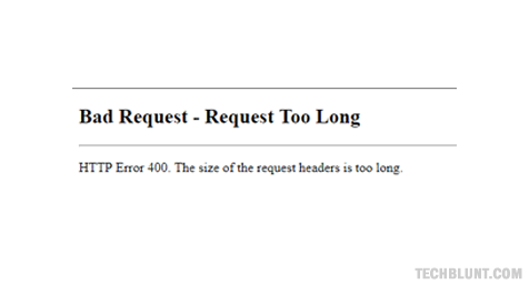 Fix 400 Bad Request Error In Google Chrome - Learn How To Do It
