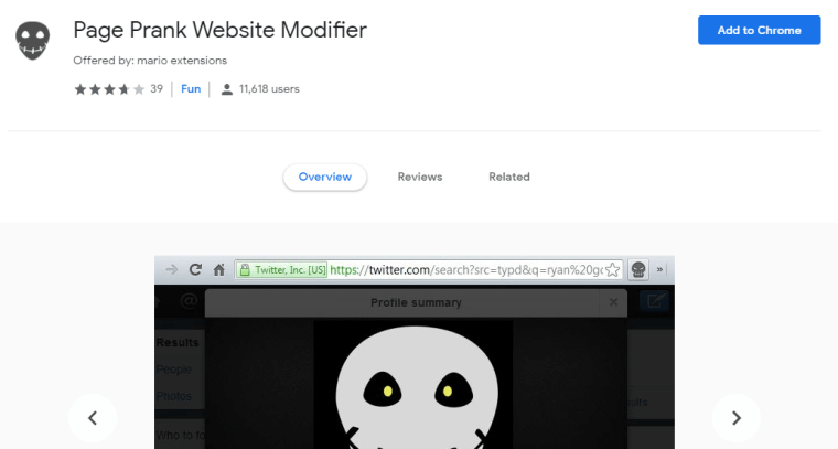 page rank website modifier- Best Google Chrome Extensions For Fun [5 Fun Extensions]
