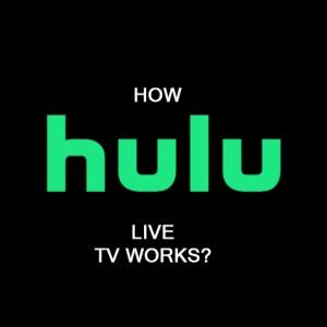 how hulu live tv works