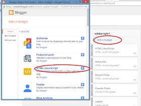 Blogger Recent Widget post html code