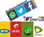 Latest Data Plan Subscription Codes For Whatsapp, Facebook And Twitter On  MTN, Etisalat,  Airtel, & Glo Networks