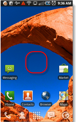 enable hidden menu android 1