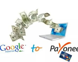 Google adsense payment to payoneer Mastercard USD dollars