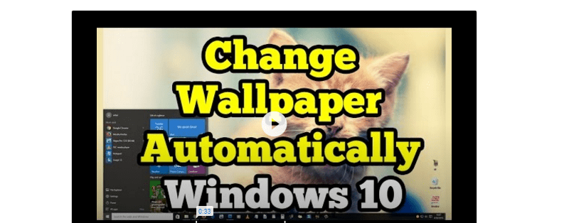 Automatically Change Windows 10 PC Wallpapers