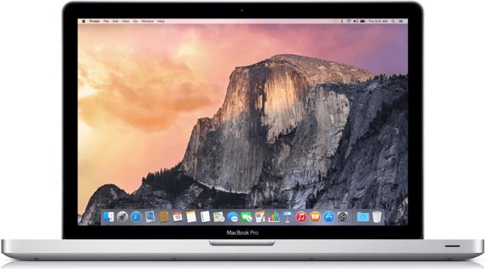 Set up MacBook Pro - Apple Settings