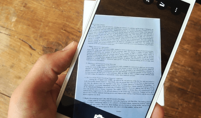 IPhone Android Scanning Machine For Documents