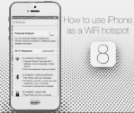 How to Use iPhone iOS Device As A Personal Hotspot on windows PC