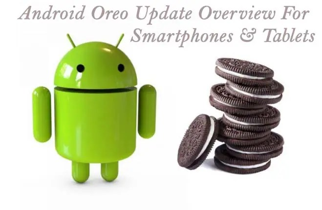 Mobile list of Android Oreo Update Download