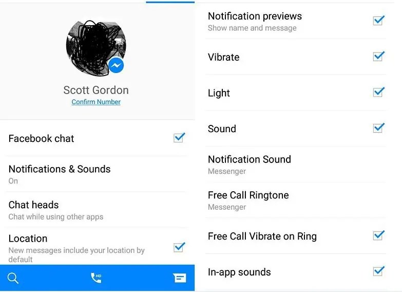 facebook Notifications and Sound