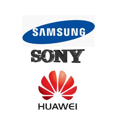 Sony Samsung and Huawei Similar Phone