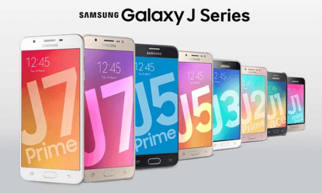 Galaxy J series smartphones