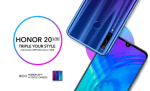 Honor 20 Lite Android Phone features 32 megapixel selfie Camera