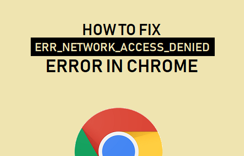 Fix Access Denied