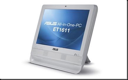 ASUS anuncia tudo-em-um básico e de baixo custo, ASUS, ET1611,Lançamentos, PCs e Notebooks