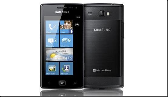 samsung-omnia-w; Vazam preços de celulares Samsung com Windows;