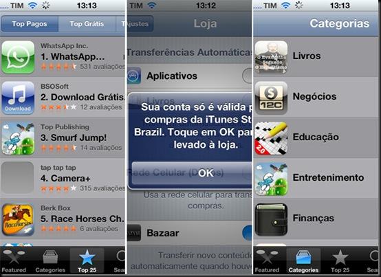 Loja de aplicativos da Apple ganha versão em português