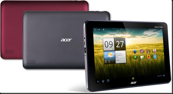 Acer Iconia TAB A200: Tegra 2 e Ice Cream Sandwich, Acer ICONIA TAB A200, Acer, Tablet, Android