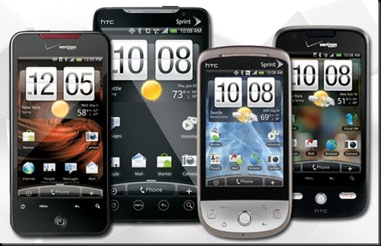Vendas da HTC caem 30% em um mês, HTC, Mercado