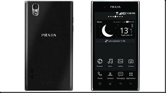Vazam informações do novo LG Prada, smartphones