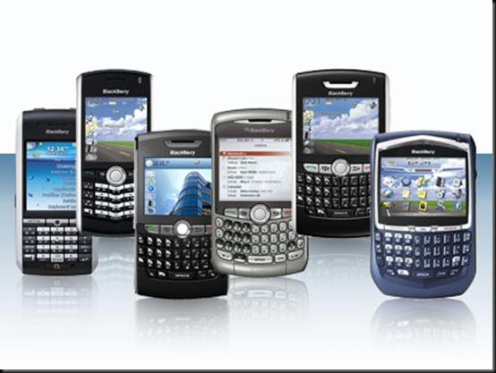 BlackBerry, BlackBerry domina 67% do mercado corporativo na América Latina, Smartphones, mercado, Em segundo lugar vem a Nokia, com 12,1%, seguida de Apple (8,3%), Motorola (5,2%), Samsung (4,1%), LG (2,2%), HTC (1,1%), Sony Ericsson (1%) e Palm (0,3%)