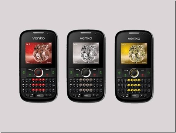 Venko lança celular com entrada para quatro chips, Smartphones