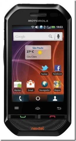 Nextel lança o Motorola i867 com Android 2.1, Smartphones, Nextel, Android, laçamentos, Motorola