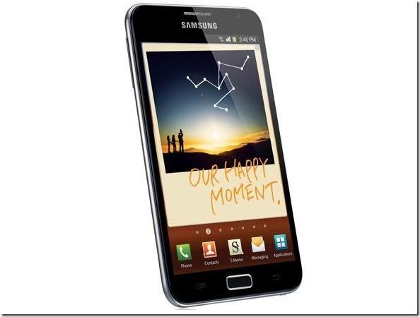 Galaxy Note soma 5 milhões de unidades vendidas, Samsung, Mercado, Smartphones