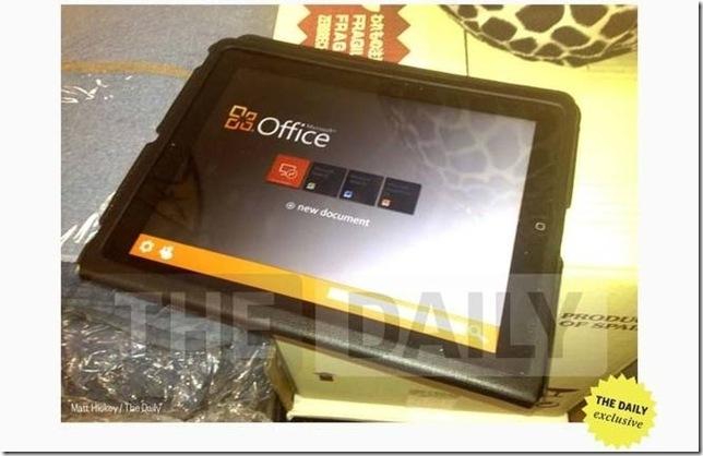 iPad deve ganhar versão oficial da suíte de escritório Microsoft Office em algumas semanas