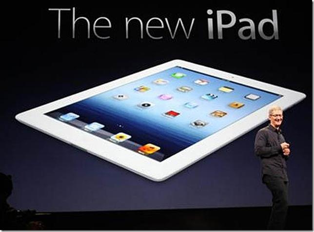 Apple vende 3 milhões de unidades do novo iPad em 3 dias, Apple, Tablets, iPad, mercado