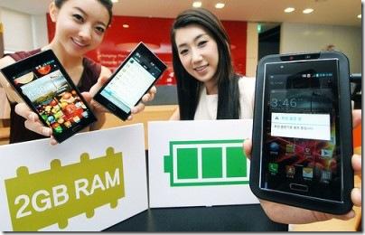 LG anuncia Optimus LTE2 com 2 GB de memória RAM, LG, Smartphones, Android