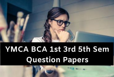 YMCA Question Paper