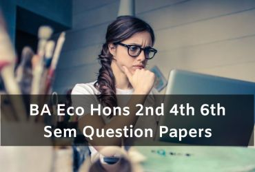 Mdu BA Eco Hon Question Papers