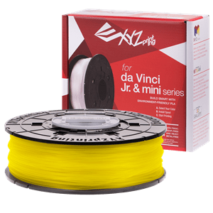XYZ DA VINCI NFC FILAMENT FOR MINI MAKER/JR/NANO - PLA (YELLOW)