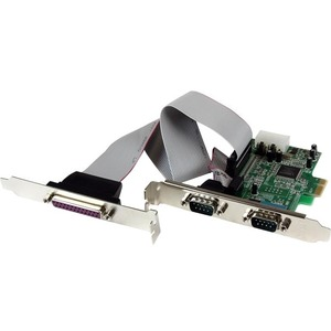 2S1P PCIe Parallel Serial Combo Card - 1 Pack - Dual-profile Plug-in Card - PCI Express - PC - 2 x Number of Parallel Ports External - 1 x Number of Serial Ports External