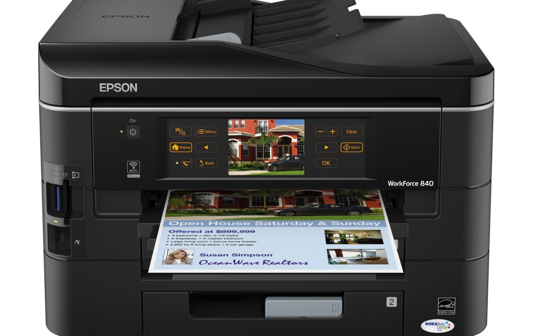 Epson Announces the World's Fastest Automatic Double-Sided Printing Solutions for Small Offices — Epson WorkForce 840 All-in-One