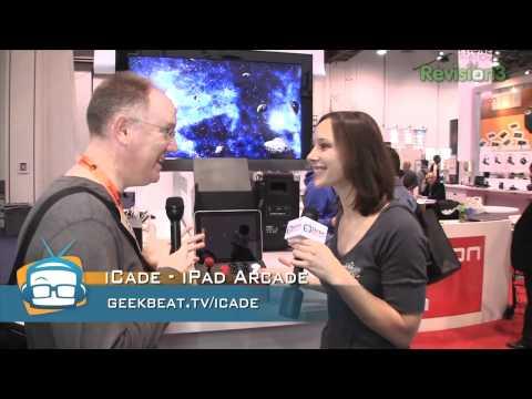 GeekBeat TV | ion iCade  CES 2011