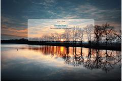 Design: Make a site background image full window