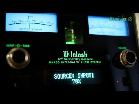 Review: $7,500 Audio – McIntosh MXA60 Bookshelf Stereo System GB178