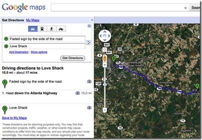 google-maps-song-lyrics-love-shack
